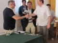 Premiazione del torneo / Chess tournament celebration