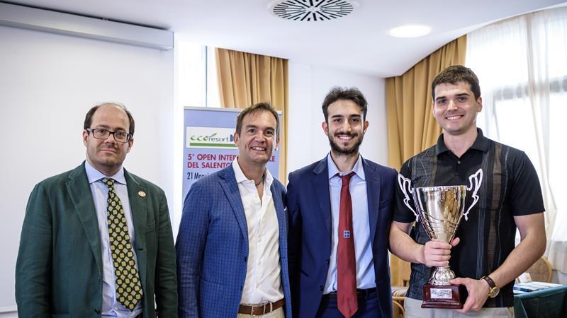 Andrji Vovk - vincitore del 5° OPEN INTERNAZIONALE DEL SALENTO 2016