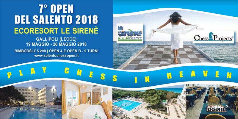 7° Open del Salento 2018