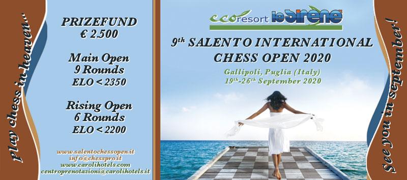 9TH SALENTO INTERNATIONAL CHESS TOURNAMENT 2020