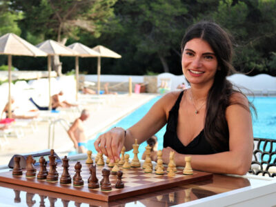 Martina Benedetti ospite all'Open Internazionale del Salento